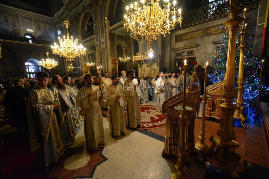 Sfânta Liturghie a fost săvârșită de IPS Mitropolit Teofan în Catedrala mitropolitană/ Foto: Flavius Popa