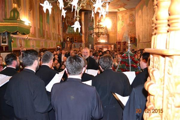 Corul preoților de la Protopopiatul Târgu Neamț