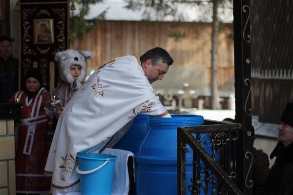 Sfințirea apei